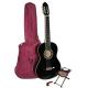 Valencia CG1K-BK klasická gitara s příslušenstvím