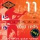 Rotosound R11 Roto Reds 11-48 struny pro elektrickou kytaru