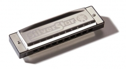 Hohner Silver Star C dur foukací harmonika