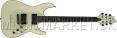 Schecter C-1 BlackJack ATX Aged White elektrická kytara